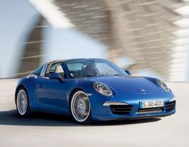 Porsche 911 Targa tại Detriot Motor Show 2014